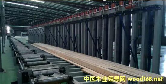 河北森居木结构胶合梁生产线投产