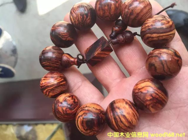 老挝黄花梨手串