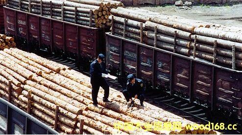 绥芬河铁路口岸2016年进口木材创八年来新高