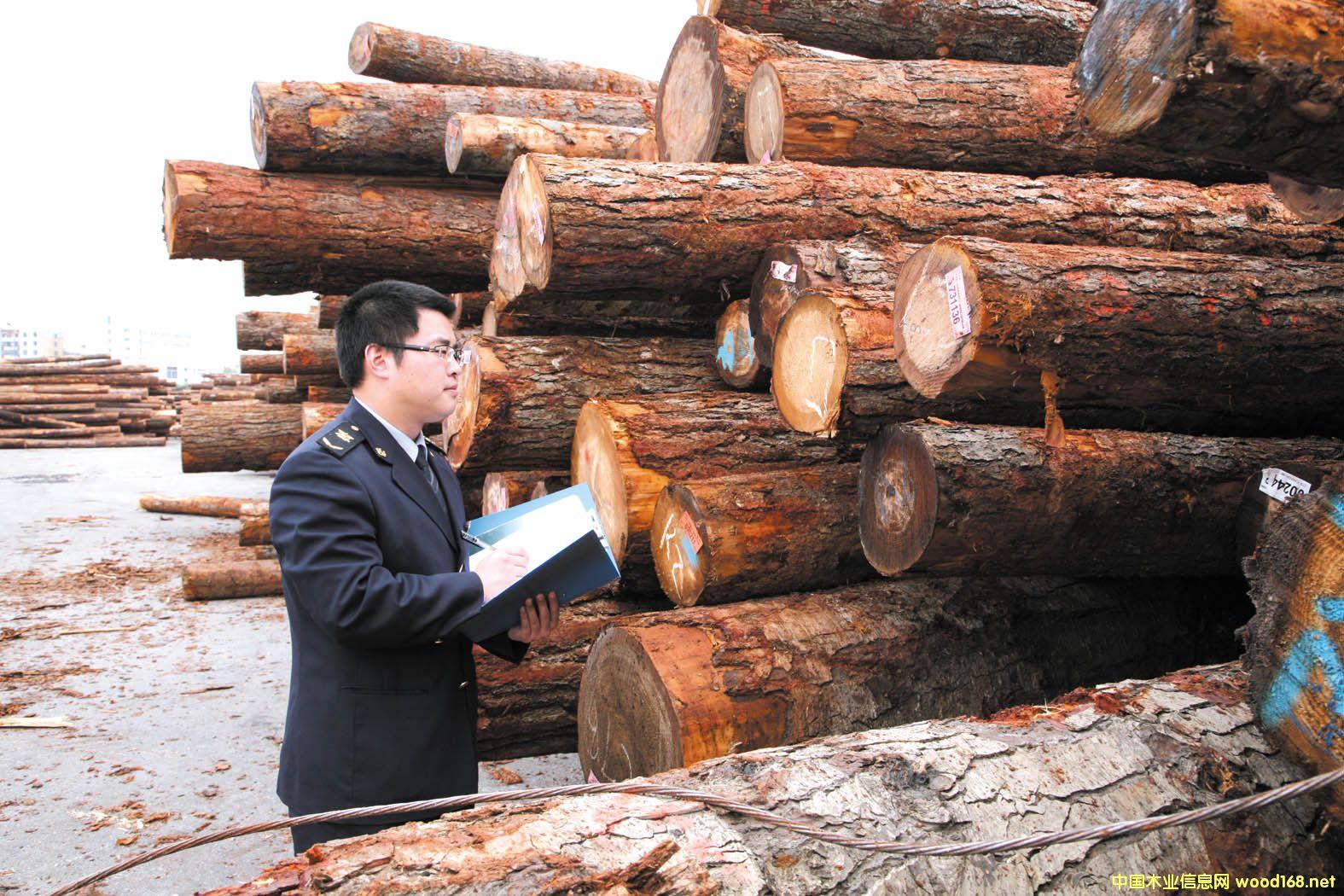 莆田口岸1-2月份进口原木激增