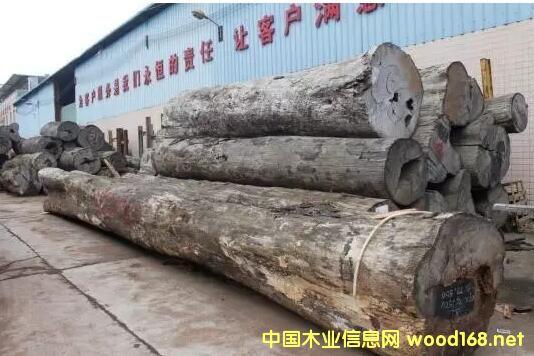 深圳观澜红木市场走访记:花梨类木材价格大涨