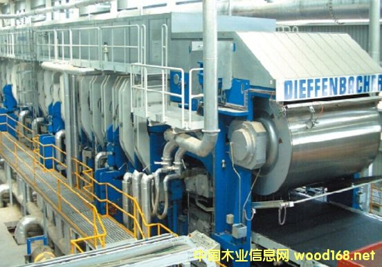吉象密度板-迪芬巴赫连续压机生产线