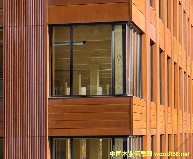 美国当今最大的木结构建筑