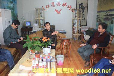 科技镇长团助力徐州木业企业发展