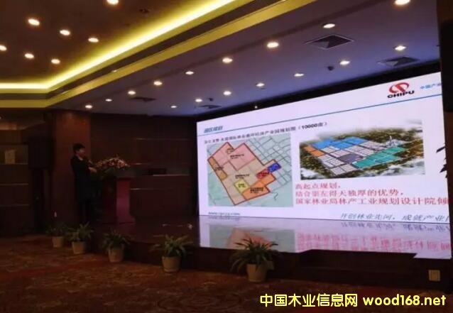 中泰・龙赞林业循环经济产业园招商引资推介会在浙江嘉善举行