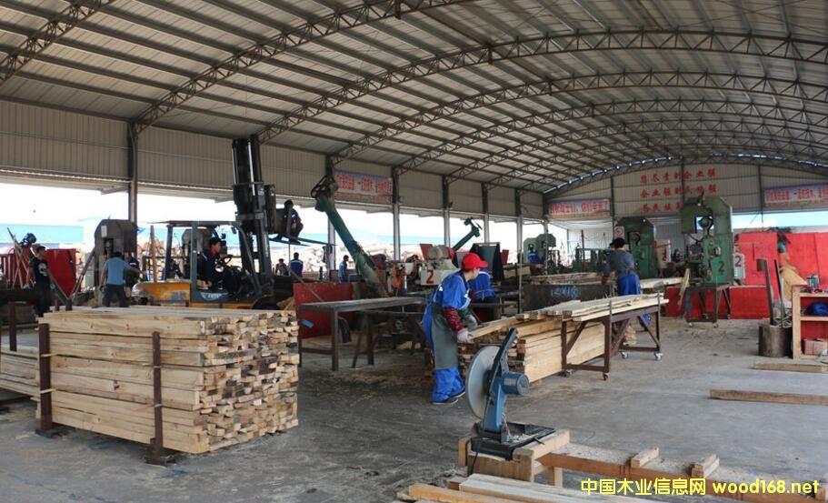 太仓口岸木材进口量基本平稳 产业结构更合理