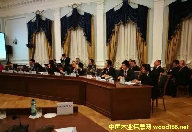 临沂市木业协会组团参加第七届中小企业圆桌会议