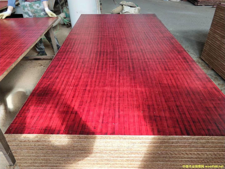 集装箱红席面地板