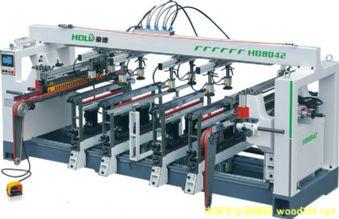 豪德HB8042自动多排钻