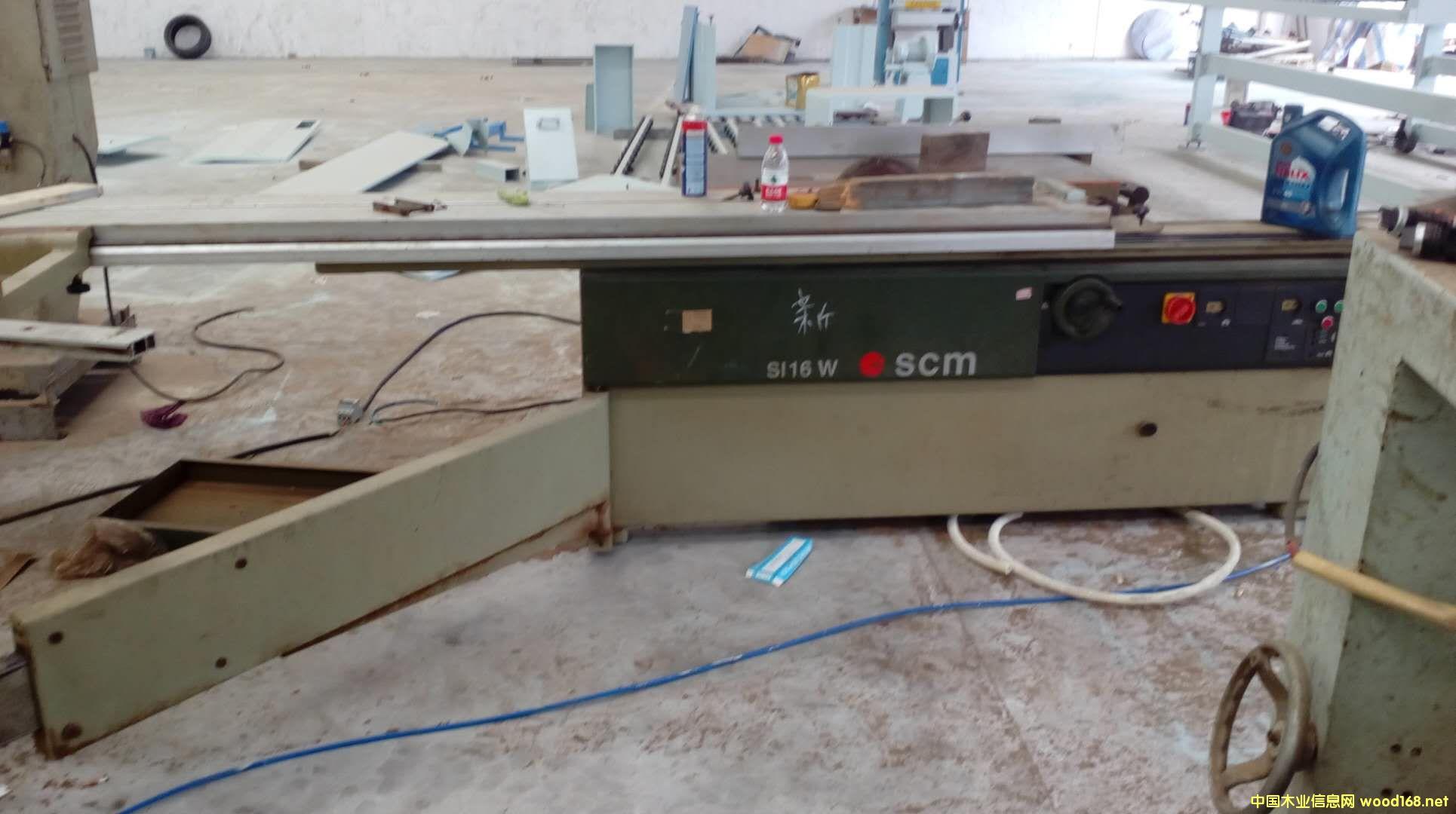 意大利SCM 3.2米推台锯