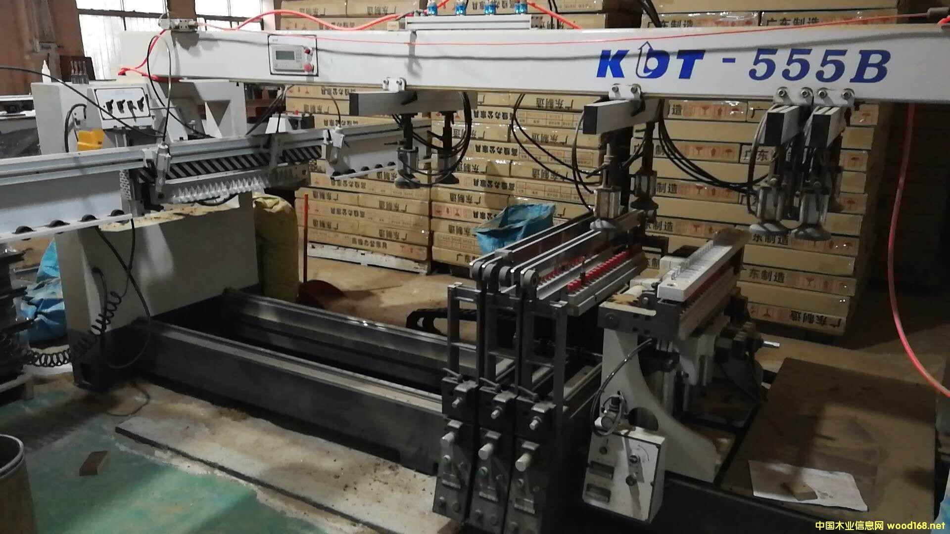 极东KDT-555B自动五排钻(带翻转)