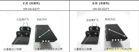 台湾龙德无线拼缝机输送链板