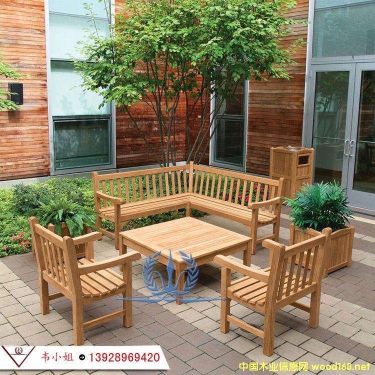 纯实木桌椅组合 室内外休闲茶桌椅组合庭院露天咖啡桌椅柚木 户