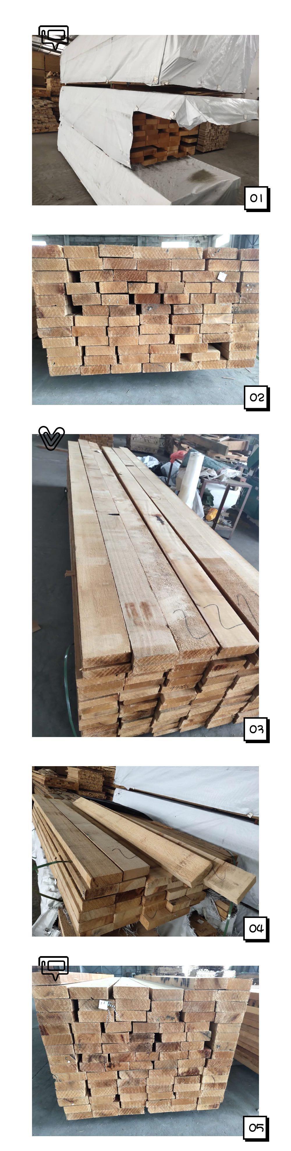 铁杉-干材