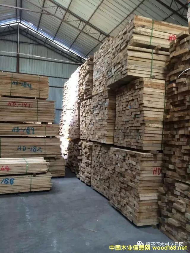 低价出售俄罗斯水曲柳干燥锯材