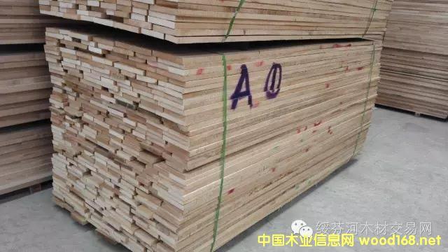 椴木干燥木线材长度2600*25mm