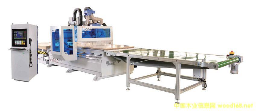 诺达开料机板式家具生产线