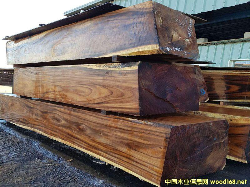 厂家直销澳洲进口桃花芯木