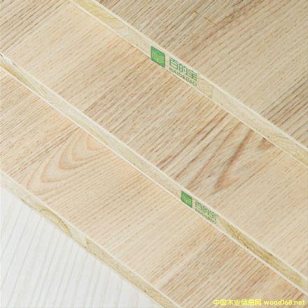 中国十大板材品牌百的宝生态板材18mm衣柜板材红木花枝