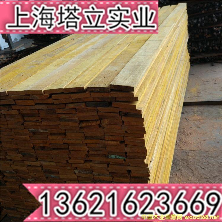 柳桉木地板坯料