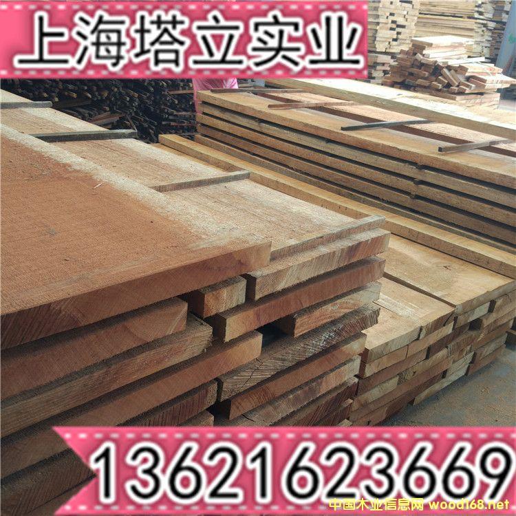 漆木6公分烘干木板材家具楼梯实木门进口非洲木材