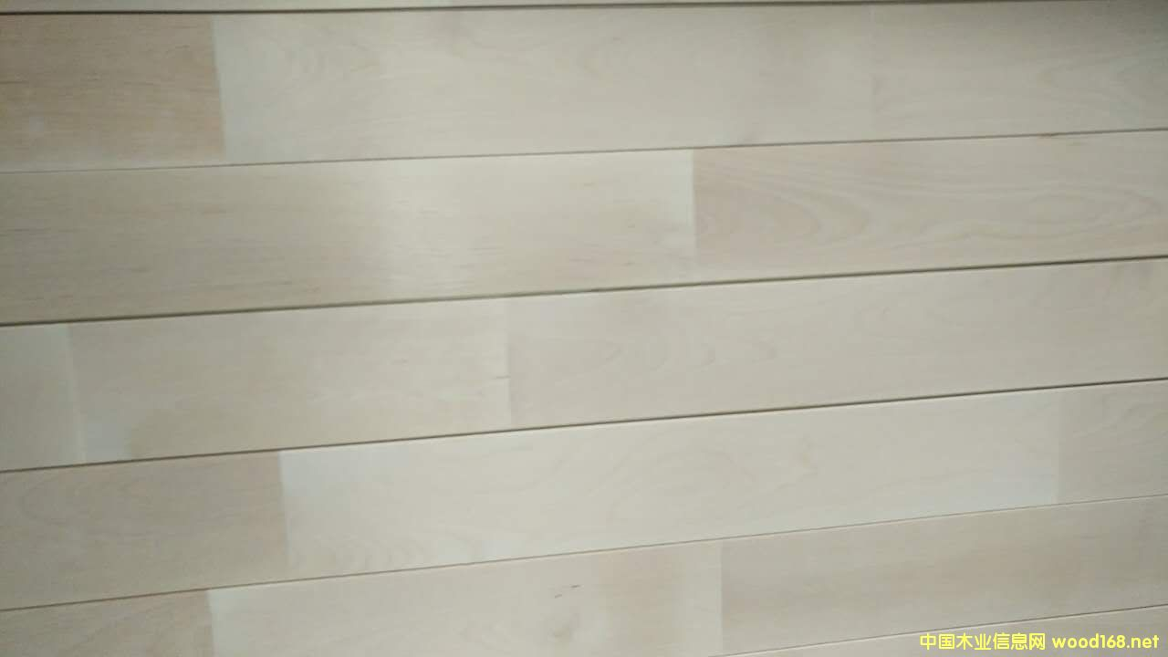 色木实木体育地板