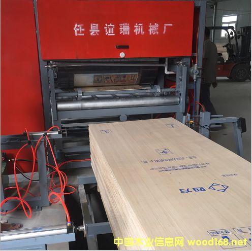 胶合板印刷机