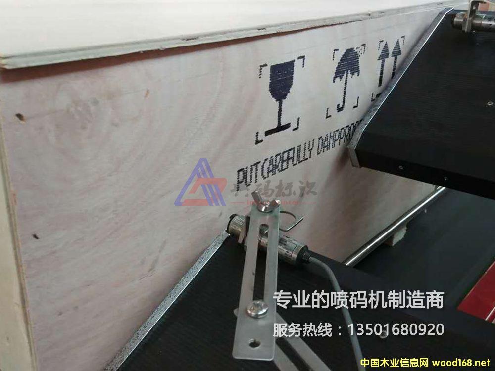 上海大字符木箱喷码机
