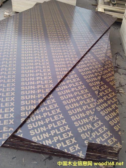 覆膜板酚醛板清水模板