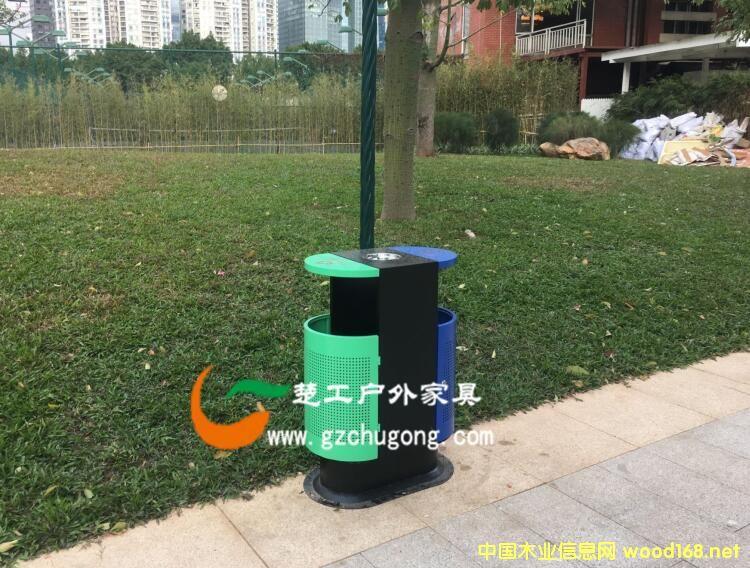 垃圾桶厂家生产铁艺垃圾桶