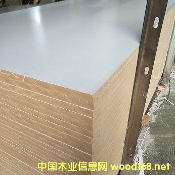 18MM单暖白中纤板雕刻镂铣吸塑板