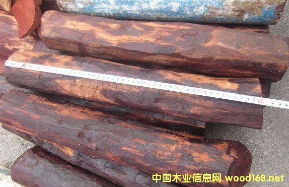 出售进口印度小叶紫檀原木