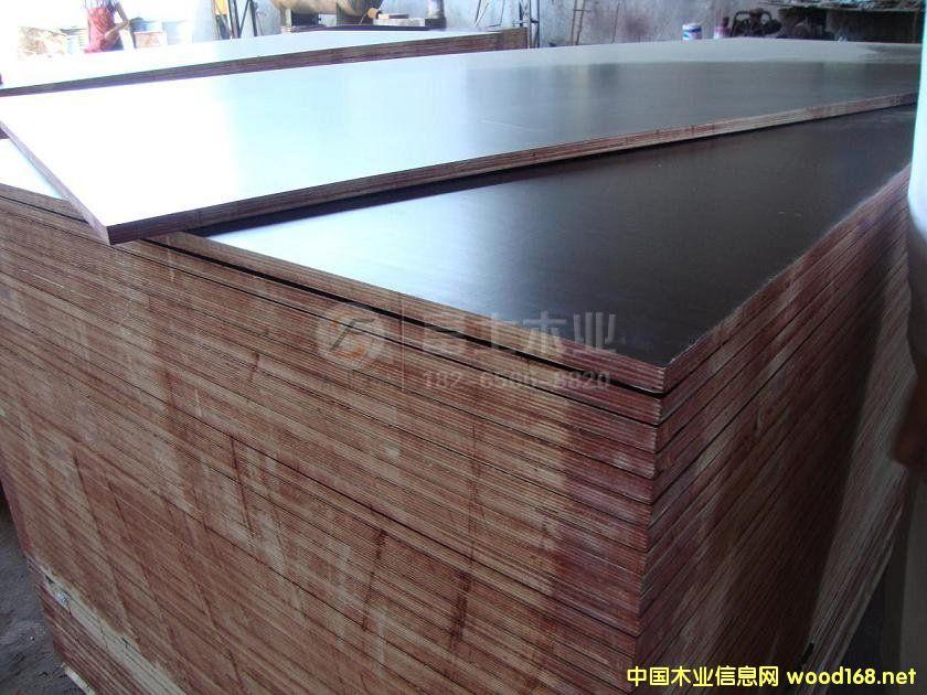 棕膜黑膜建筑模板