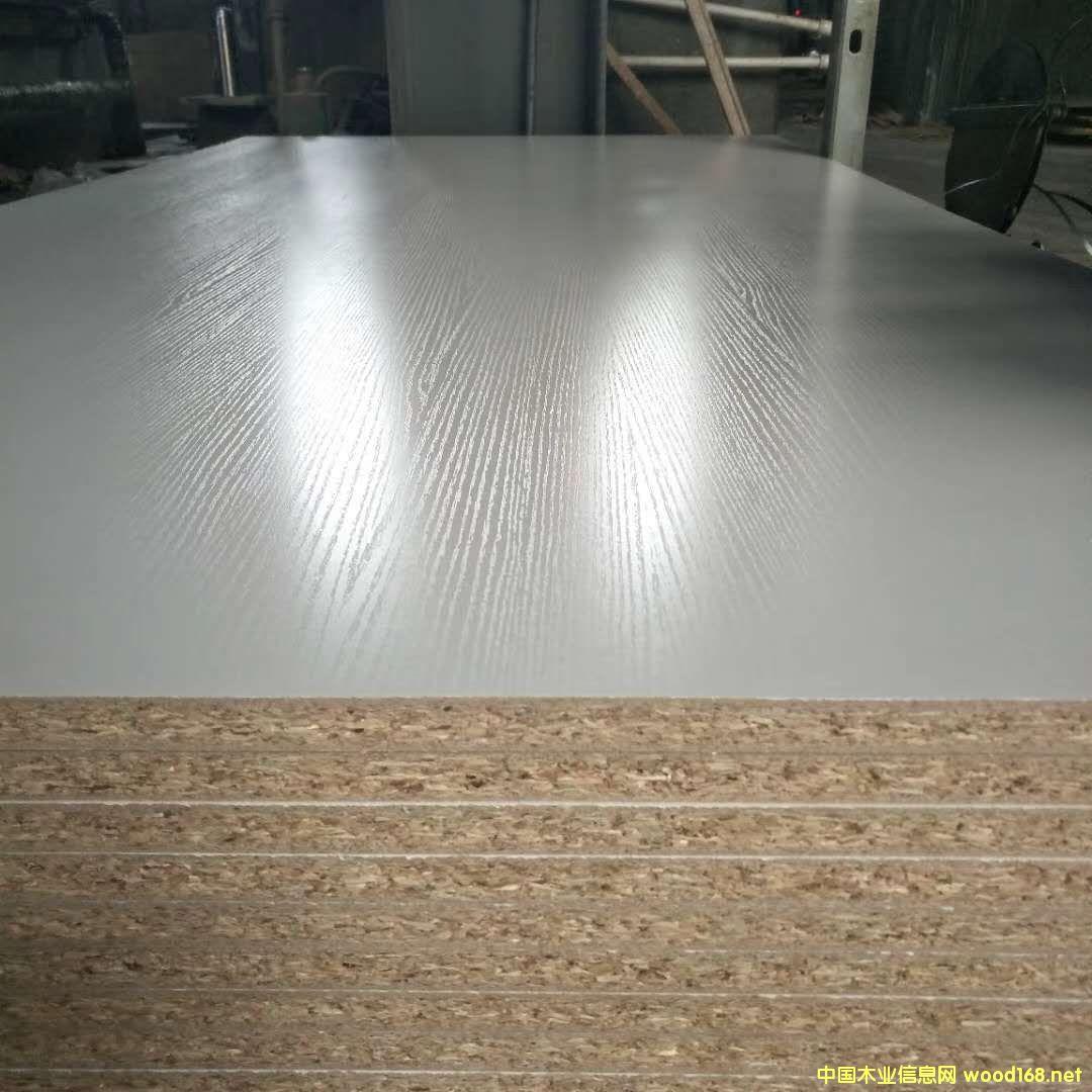 三聚氰胺贴面刨花板 刨花板贴面