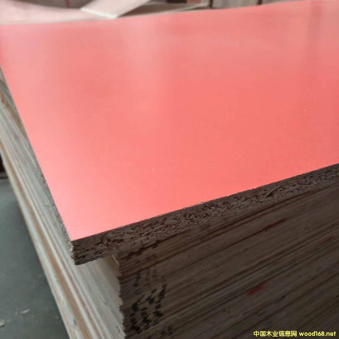 三聚氰胺板 双饰面板 免漆板