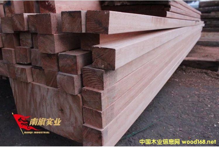 柳桉木板材价格 红柳桉木防腐木报价