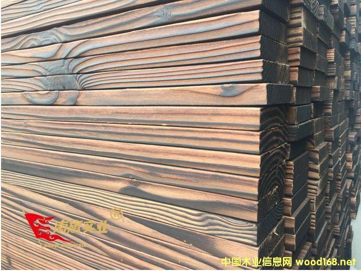 花旗松碳化木批发价格  花旗松建筑木方厂家