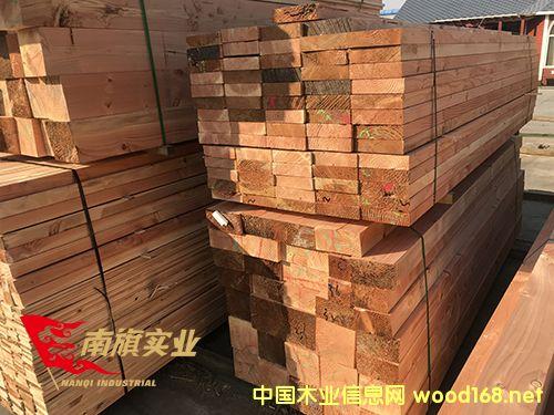 上海花旗松碳化木价格 太仓花旗松建筑木方厂家