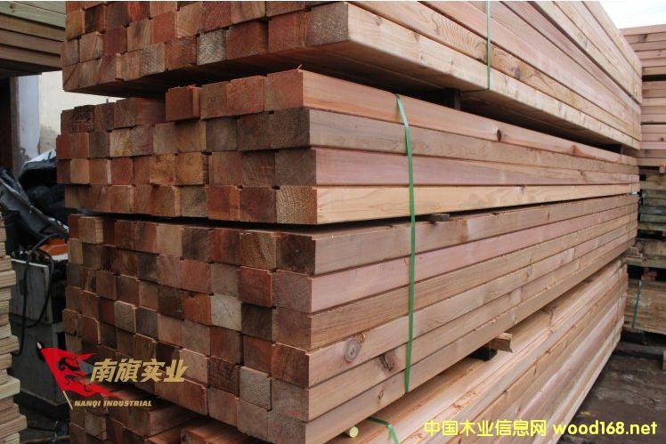 上海红雪松防腐木厂家 红雪松批发