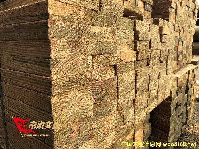 南方松炭化木 上海南方松厂家