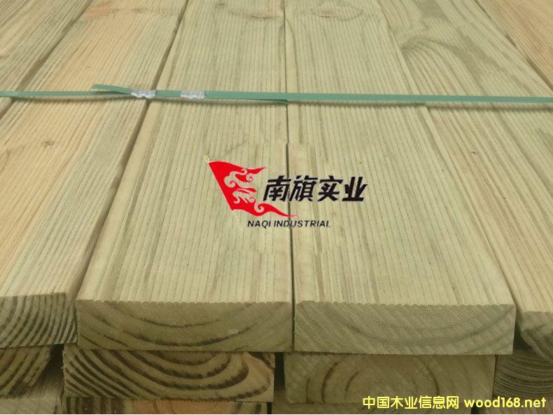 上海南方松生产厂家 南方松深度碳化木