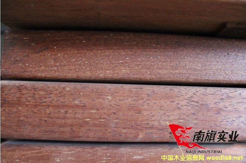 上海南旗印尼菠萝格木方 现货供应