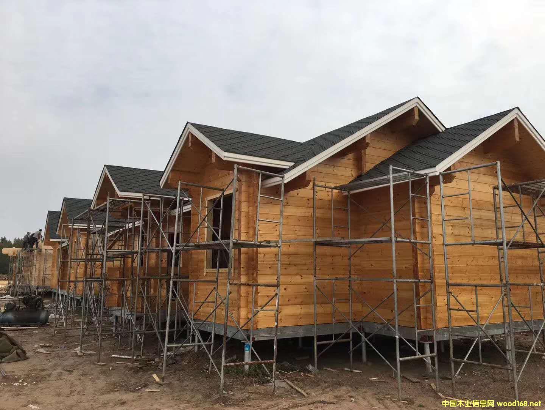 木屋定制厂家  防腐木木屋价格
