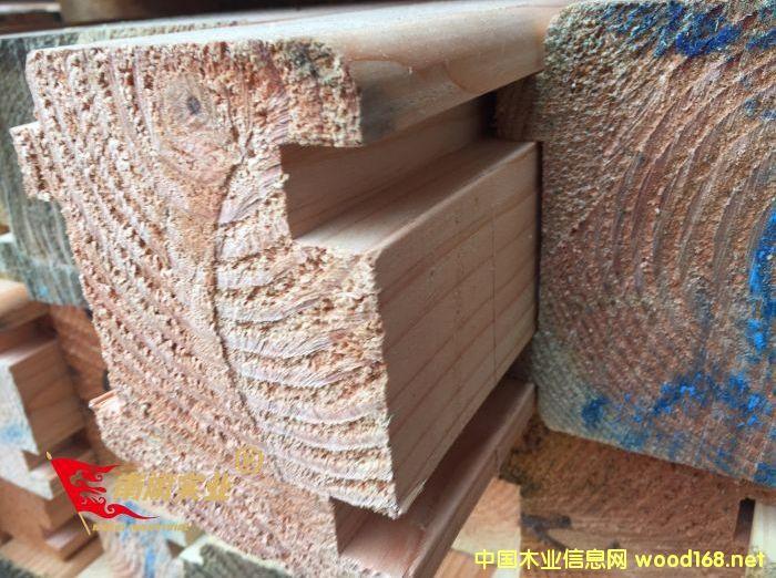花旗松重型木结构材料