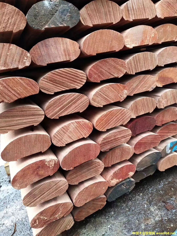 柳桉木扶手厂家  柳桉木多少钱一方