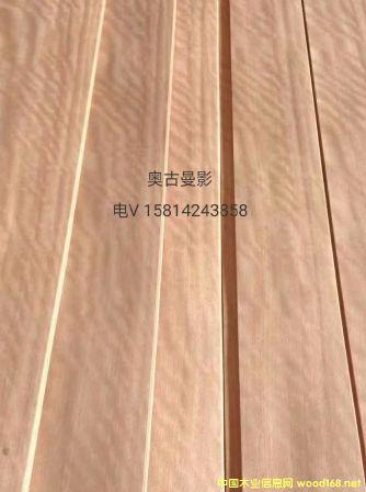 优质天然奥古曼影木皮