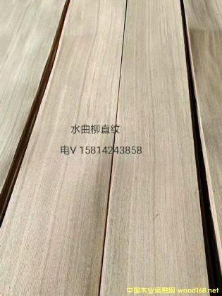 优质天然水曲柳直纹木皮