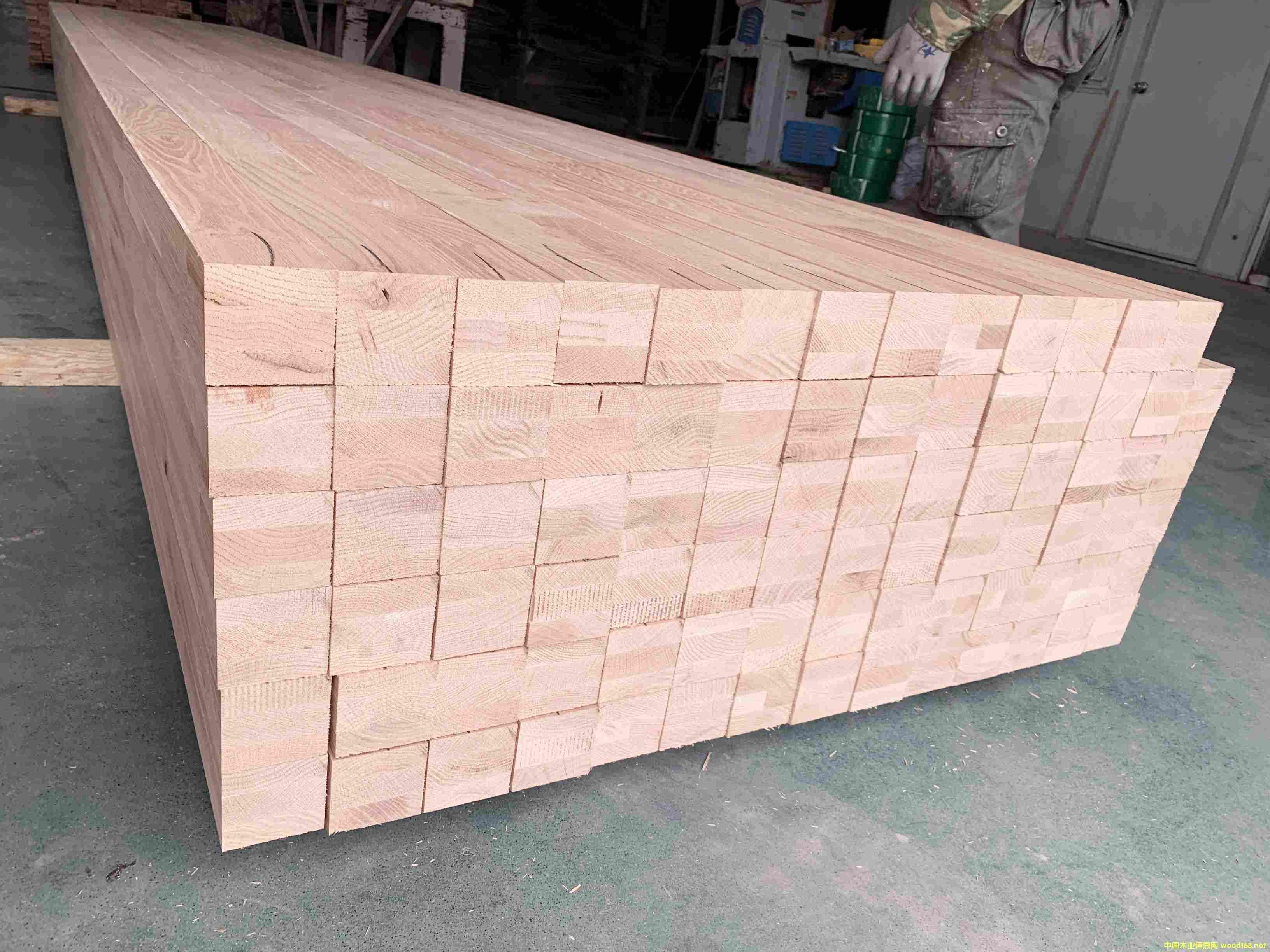 红橡木集成材