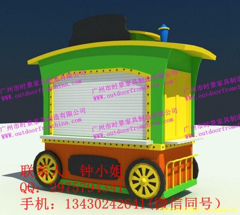 流动售货车,户外售货车,售货车 美食节售货亭 木质售货车