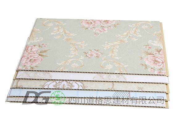 竹木纤维刺绣集成墙板